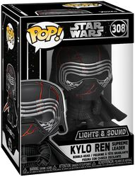 Episode 9 - The Rise of Skywalker - Kylo Ren  (Lights and Sound) Vinyl Figure 308 (figuuri)