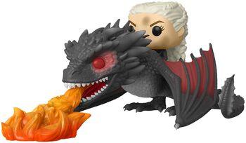 Daenerys and Fiery Drogon POP Rides Vinyl Figure 68 (figuuri)
