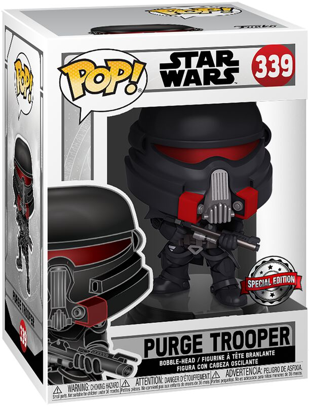 Jedi Fallen Order - Purge Trooper Vinyl Figure 339 (figuuri)