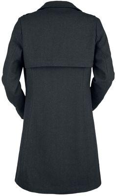 Musta (villa)mantteli