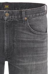 Lee Jeans Daren Zip Fly Regular Straight Fit Dk Worn Magnet