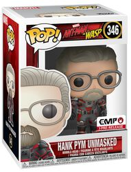 Ant-Man and The Wasp Hank Pym unmasked - Vinyl Figure 346 (figuuri)