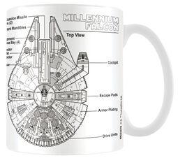 Millennium Falcon Sketch
