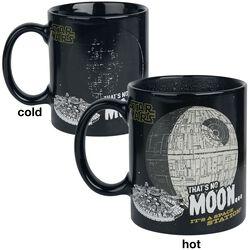 That's No Moon - lämpöön reagoiva muki