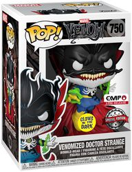 Dr. Strange with Energy (GITD) Vinyl Figure 750 (figuuri)