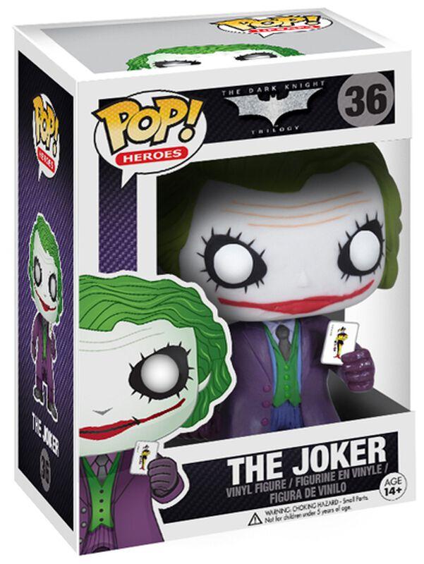 The Dark Knight Trilogy - The Joker Vinyl Figure 36 (figuuri)
