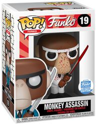 Fantastik Plastik - Monkey Assassin (Funko Shop Europe) Vinyl Figure 19 (figuuri)