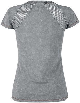 T-paita verkko-osioilla