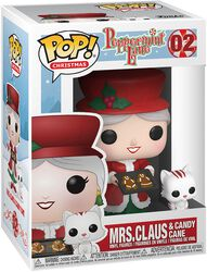 Holiday - Mrs. Claus and Candy Cane Vinyl Figure 02 (figuuri)