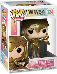 1984 - Wonder Woman Golden Armor Flying Vinyl Figure 324 (figuuri)