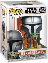 The Mandalorian - The Mandalorian With The Child Vinyl Figure 402 (figuuri)