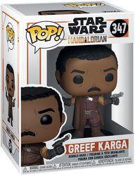 The Mandalorian - Greef Karga Vinyl Figure 347 (figuuri)