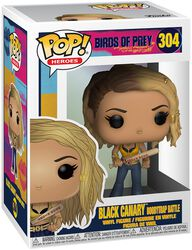 Black Canary Boobytrap Battle Vinyl Figure 304 (figuuri)
