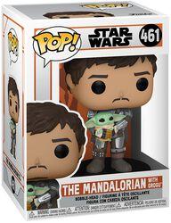 The Mandalorian - The Mandalorian with Grogu Vinyl Figure 461 (figuuri)
