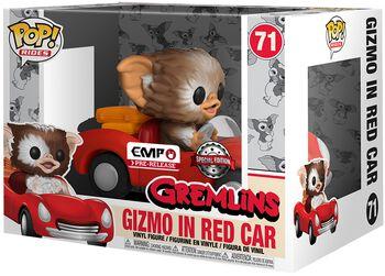 Gizmo in Red Car POP Rides Vinyl Figure 71 (figuuri)