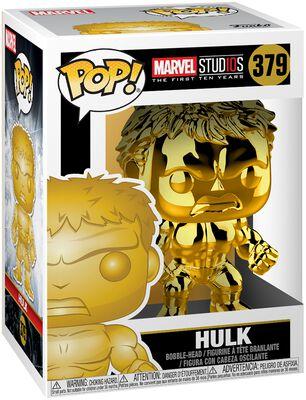 Marvel Studios 10 - Hulk (Chrome) Vinyl Figure 379 (figuuri)