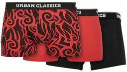 Organic Boxer Shorts bokserit - 3 kpl setti