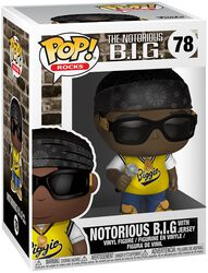 Notorious B.I.G. (With Jersey) Rocks Viinyl Figure 78