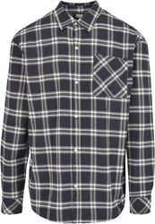 Oversized Check Shirt