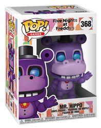 Pizza Sim  - Mr. Hippo Vinyl Figure 368 (figuuri)