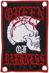 Queen of Darkness - Punk Skull Patch