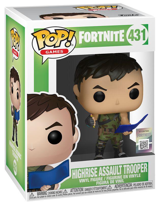 Highrise Assault Trooper Vinyl Figure 431 (figuuri)