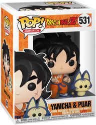 Z - Yamcha and Puar Vinyl Figure 531 (figuuri)