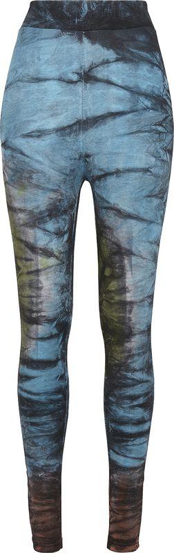 Ladies Cotton Tie Dye High Waist Leggings leggingsit