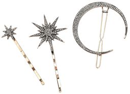 Moon and Stars Hair Jewellery