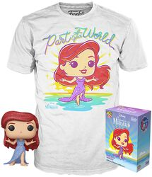 Arielle - T-Shirt plus Funko - Fan Paket