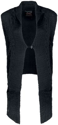 Knitted Waistcoat Longer at Front