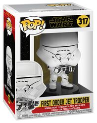 Episode 9 - The Rise of Skywalker - First Order Jet Trooper Vinyl Figure 317 (figuuri)