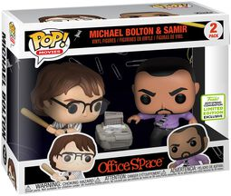 ECCC 2019 - Office Space Michael Bolton and Samir (2 Pack) Vinyl Figure (figuuri)