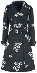 Marjorie Black Floral Jacket