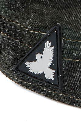Armeijatyylinen vintage-lippis