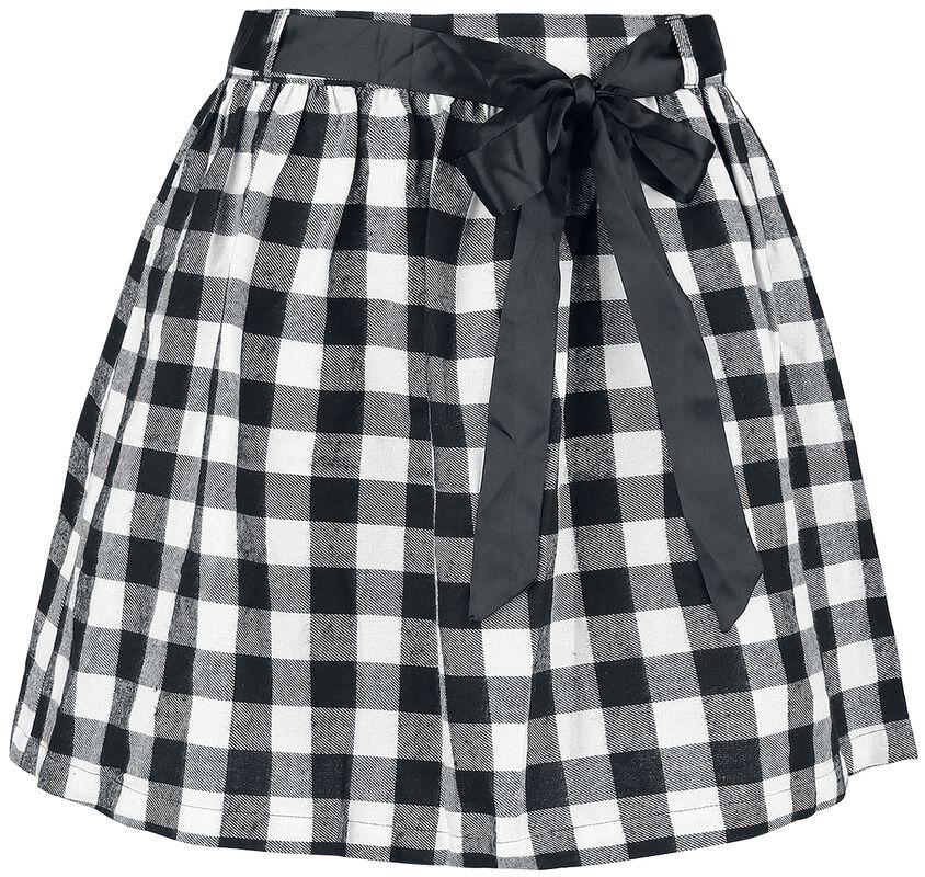 Ruudullinen Black Premium -mekko