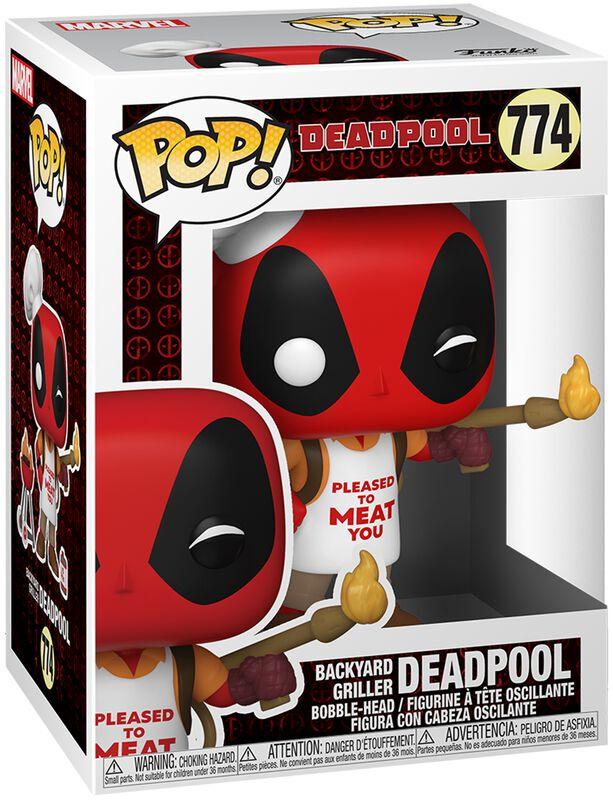 30th Anniversary - Deadpool Backyard Griller Vinyl Figure 774 (figuuri)