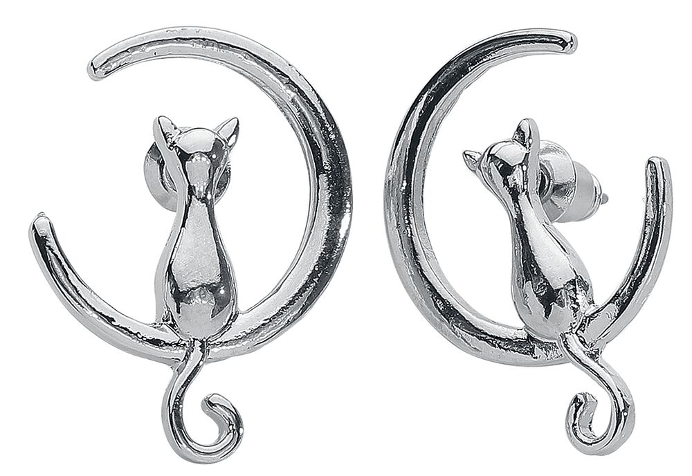 Moon Cats Earstuds