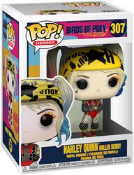 Harley Quinn Roller Derby Vinyl Figure 307 (figuuri)