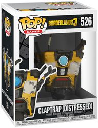 3 - Claptrap (Distressed) Vinyl Figure 526 (figuuri)