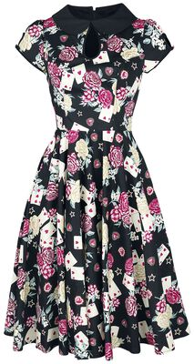 Queen of Hearts 50s Dress