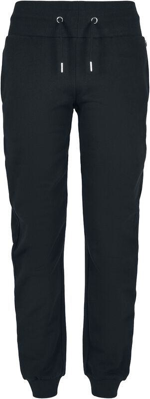 Ladies Organic High Waist Sweat Pants collegehousut