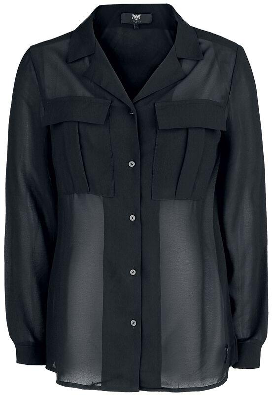 Läpikuultava Black Premium -pusero
