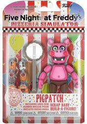 Pizza Simulator - Pigpatch Action Figure (figuuri)