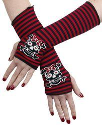 Striped Arm Warmers