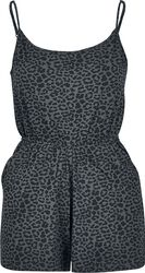 Ladies Leo Short Spaghetti Jumpsuit