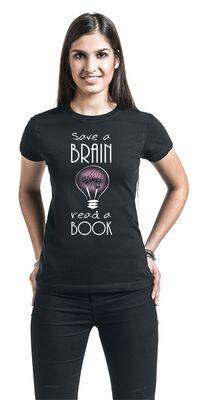 Save A Brain - Read A Book