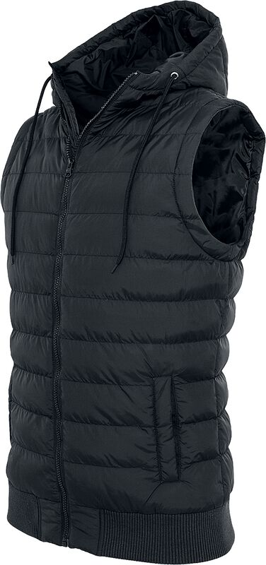 Small Bubble Hooded Vest toppaliivi