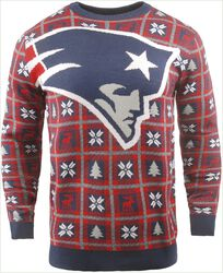 New England Patriots Crew Neck Sweater
