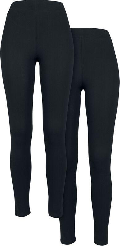 Pre-Pack Ladies Jersey Leggings leggingsit (2 kpl setti)